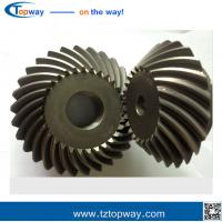 Quality Farm machinery Precision bevel gears carburizing steel straight bevel gear wholesale