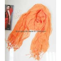 Quality 2012 Lady Knitted Fashion Linen Scarf (5W-1338) wholesale