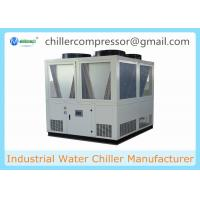 Quality 20 tons-130 tons Semi-hermetic Screw Compressor Air Cooled Water Chiller for Plastic and Rubber Industry wholesale