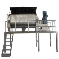 Quality Manual Chemical Powder Mixing MachineWith Platform 30kw Powder Easy To Clean wholesale
