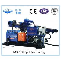 Quality MD-100A Mining Exploration Skid Mounted Anchor Drilling Rig wholesale
