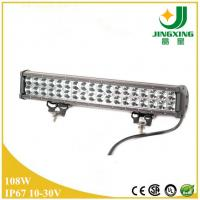 Quality 18 Inch 108W (8600lm) Dual Row LED Light Bar with Flood Spot Pencil Combo Beam for 4WD 4x4 wholesale