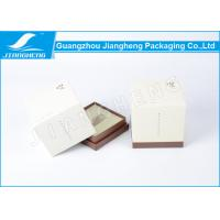 Cheap Pantone Color Printing Cosmetic Packaging Boxes , Square Paperboard Gift Boxes for sale