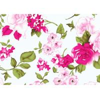 Quality Beautiful Floral Cotton Print Fabric By The Yard 60*60 90*88 wholesale