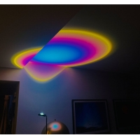 China Sunset Lamp Modern Rainbow Sunset Projection Lamp for Bedroom Decor on sale