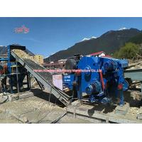 Quality Low Noise Industrial Wood Chipper Shredder Wear Resistant 12 Month Warranty wholesale
