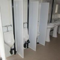 China Toilet Container, Made of Steel, Suitable for Various Required Layouts and Specifications on sale