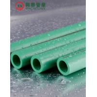 Quality Green Polypropylene Random Copolymer Pipe / Heat Resistant Plastic Pipe Smooth Surface wholesale