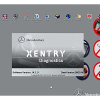 Quality Automotive Diagnostic Software MB STAR C3/C4  HDD DELL Format 160G For Benz wholesale