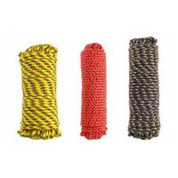 Quality 6mm-12mm Braided Polypropylene General Purpose diamond solid braid Rope Color may vary wholesale
