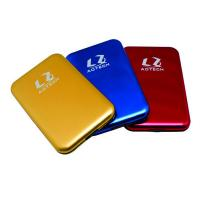 China portable 2.5inch sata hard disk drive case for 12.5mm hdd/9.5mm hdd/7mm hdd on sale