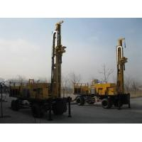 Cheap Hydraulic Waterwell Drilling Rig 160 Kw Ф108 mm With 6 m Drill Rod for sale