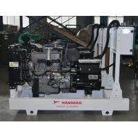 China Manual Auto Control Yanmar Diesel Generator 40kva Power Station ISO9001 Approved on sale