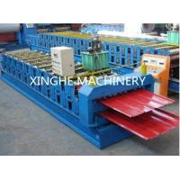 Africa Model  Roof Panel Roll Forming Machines , Aluminium Sheet Metal Rolls