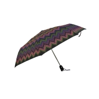 China Vinyl Coated Polyester 21*8K Automatic Travel Umbrella on sale
