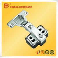 China Small size Hydraulic soft close hinge kitchen cabinet door hinges with plastic pad on sale