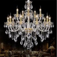 China Modern Gold crystal chandelierslight fixtures on sale (WH-CY-12) on sale