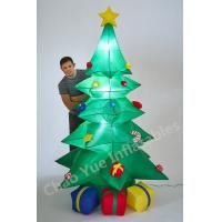 Quality 2015 Hot LED Inflatable Christmas Tree Decorations for Christmas Holiday wholesale