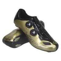 China Gold SPD Indoor Cycling Shoes Columbia Sportswear Breathable Non Slip Waterproof on sale
