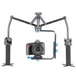 Quality Foldable M shaped Black Spider Handheld Camera Stabilizer For DSLR wholesale