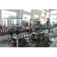 Quality 370ML Glass Bottle Carbonated Drink Filling Machine , Beer Bottle Capping Machine wholesale