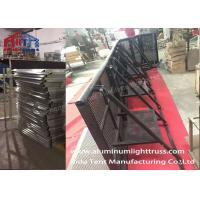 Buy cheap Road Fence Crowd Control Barriers , Crowd Control Stands Avalized Surface from wholesalers