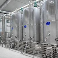 Cheap SUS304 / 316L Dairy Processing Plant Pasteurized Milk Processing Line 1 Year Warranty for sale