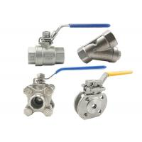 Quality Cf8 4 Inch Stainless Steel Ball Valve 316 Ss Ball Valve Fire Resistance wholesale
