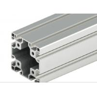 Quality Decorations T - Slot Aluminum Extrusion , Silver Anodized T Slot Extruded Aluminum wholesale