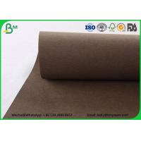 Quality Colorful Washable Kraft Liner Paper Roll Matte Surface Pink Washable Kraft Paper Bags wholesale