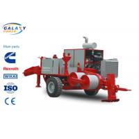 Quality Red Color Transmission Line Equipment Double Cableway Hydraulic Puller wholesale