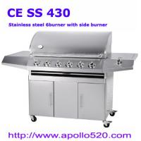 China Deluxe 6Burner Gas Grills Stainless on sale