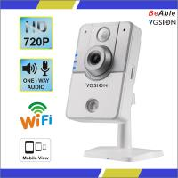 3.6mm lens 720P PIR human detection wifi ip camera support two way audio,3D voice