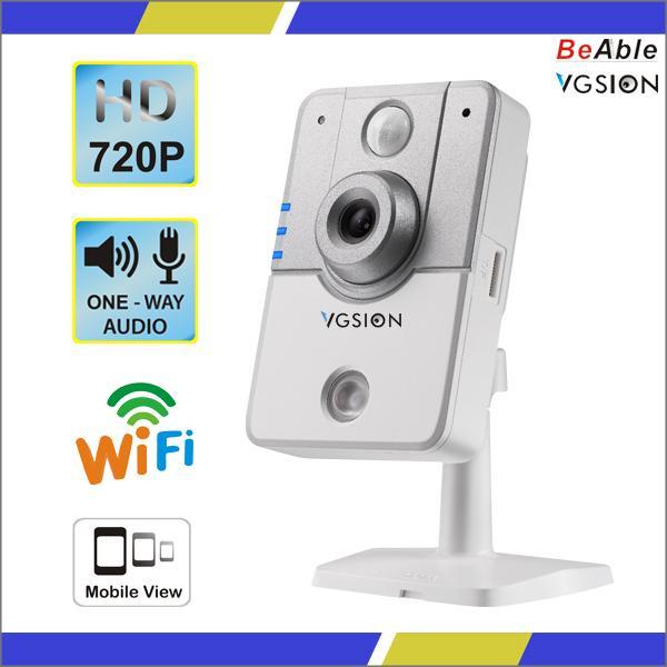 Cheap H264 P2P HD gapixel PIR Human Sensor/Alarm Host/Door sensor/Motion Detection IR-CUT Wireless IP Camera for sale