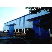Buy cheap Ventilation and skylight roof design steel structure warehouse in Tanzania from wholesalers