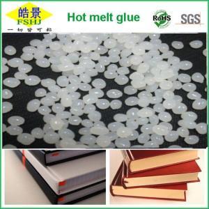 China Good Viscosity Bookbinding Hot Melt Adhesive White Round Hot Melt Pellets on sale