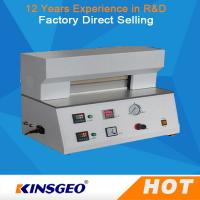 Buy cheap 0.01~9999.99s Heat Seal Time Digital  Plastic Testing Machine / Heat Seal Tester PID Temperature Control for Plastic from wholesalers