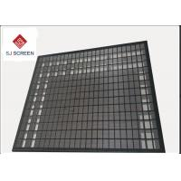 Quality 3 Layer 304 Stainless Steel Rock Shaker Screen For Mud Separation wholesale