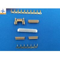 Quality DF13 wire to board connector terminals tin-plated Crimping Connector for Discrete wire AWG 30 to 26 wholesale