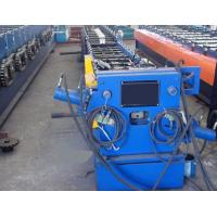 Quality Round / Rectangular Downspout Roll Forming Machine With 20 Roller Stations Germany Rex Valve wholesale