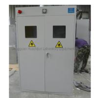 Cheap Metal Steel Laboratory Storage Cabinets , Compressed Gas Cylinder Cabinets for sale