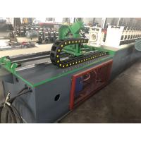 China 5.5kW Motor Power Hydraulic Station Cut U Channel Cold Roll Forming Machine With Gear Box on sale