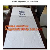 China Disposable seat cover on a roll Wing cover Dust broom Universal front cover Wheel screw bag Screw bag including drawstri on sale