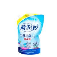 China 100% eco-friendly custom liquid detergent stand up pouch for laundry detergent on sale