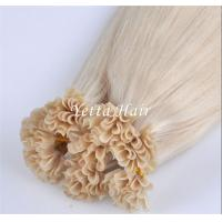 Quality Professional Full Cuticles Pre Bonded U Tip Hair Extensions Nail Hair wholesale