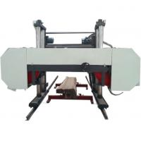 Quality MJ2000 Large Scale Horizontal Bandsaw Sawmill Heavy Duty Diesel Sawmill For Sale wholesale