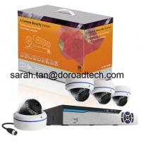 Quality Power Line Communication 4CH NVR Kit Home Surveillance System wholesale