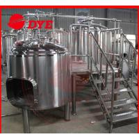 Quality 1500L Commercial Beer Brewing Equipment With Spray Ball Cleaning System wholesale