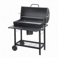 Quality Deluxe large size braai charcoal barbecue grill with table wholesale