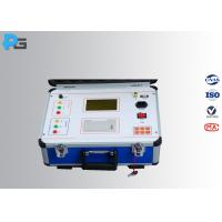 Quality Portable Ratio Transformer Testing Equipment Three Phase With 200 MA Current wholesale